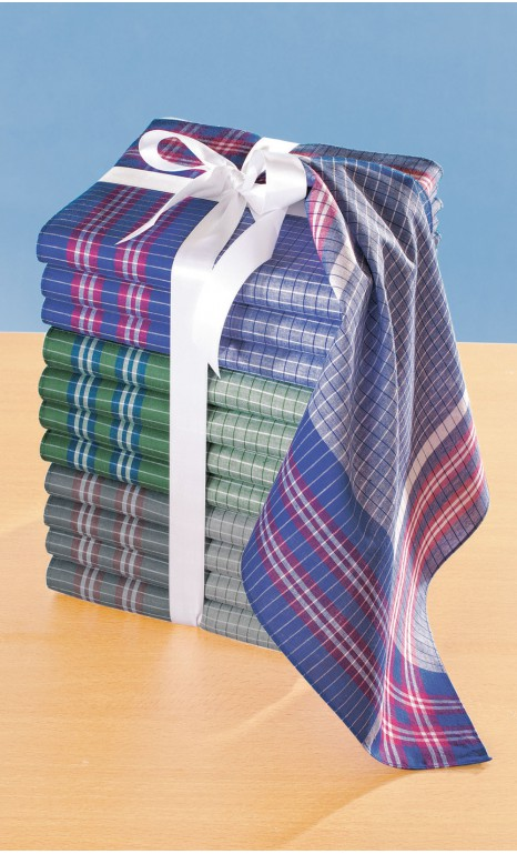 Lot de 12 mouchoirs de travail - RADLEY