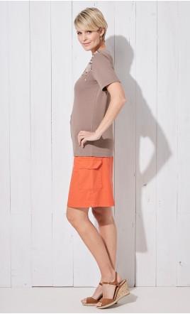 jupe droite - LUDMILA
