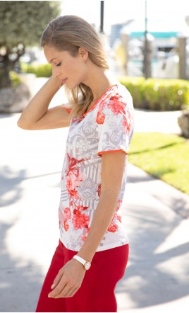 Tee shirt DOLINA. - DOLINA