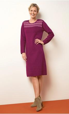 robe tricot - HAQUET