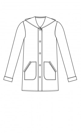 veste manteau - TREMPLIN