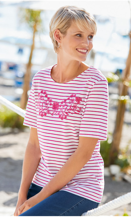 tee-shirt manches courtes - COUPON