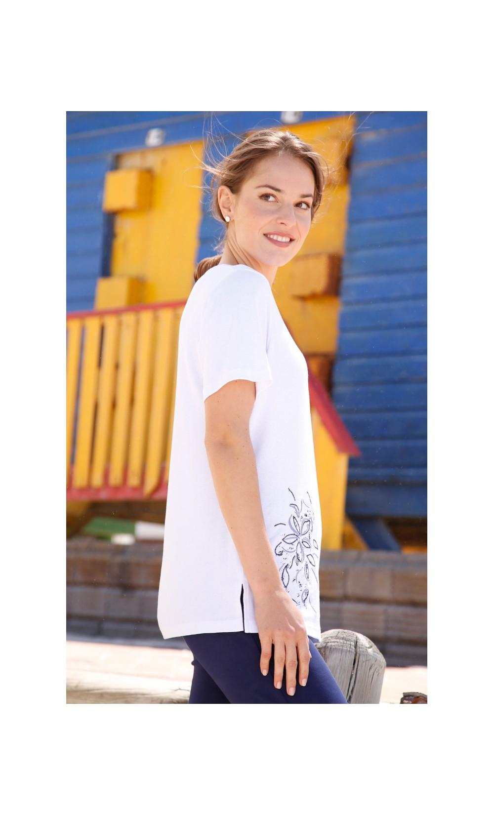 tee-shirt brodé - CAEN