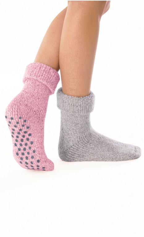 Lot de 2 paires de chaussettes d'intérieur - BYZANCE